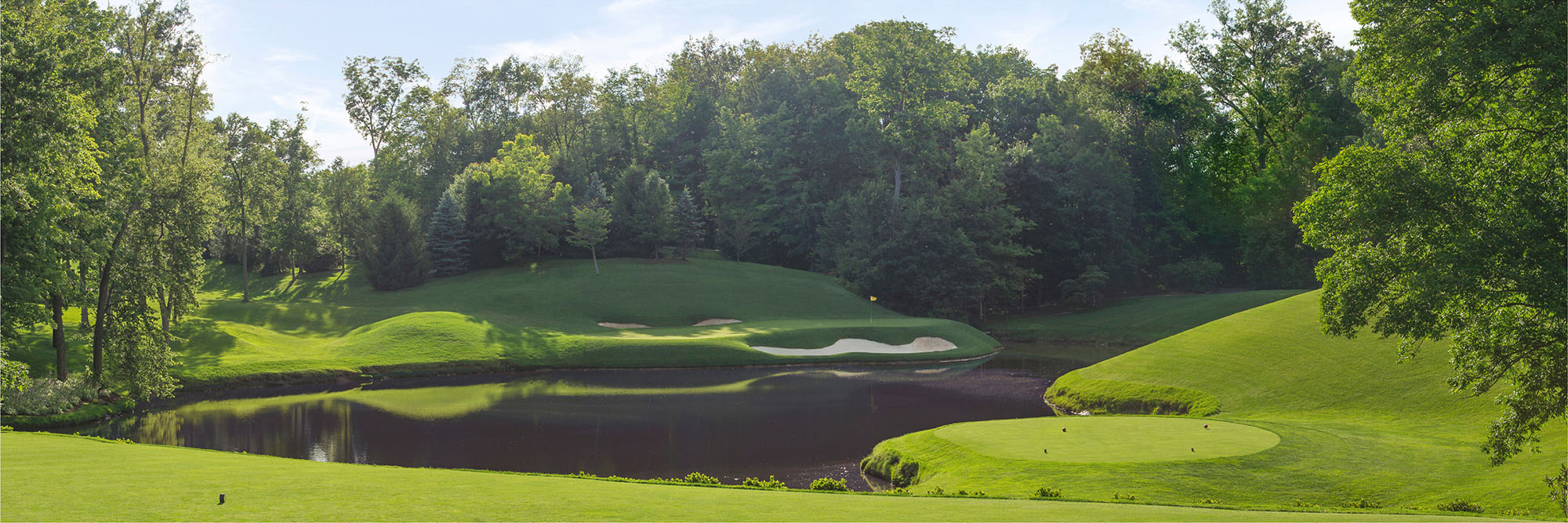 Golf Course Image - Muirfield Village No. 12