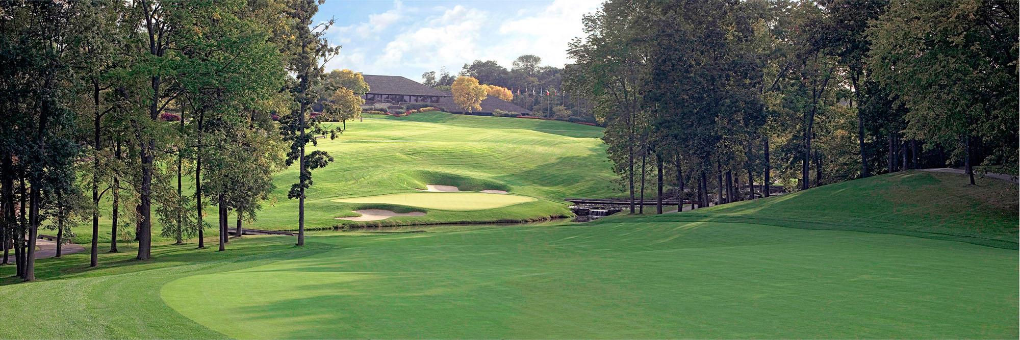 Golf Course Image - Muirfield Village No. 9