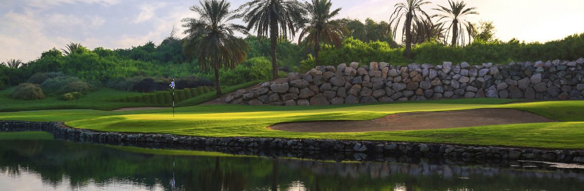 Abu Dhabi Golf Club Champion Course No. 12