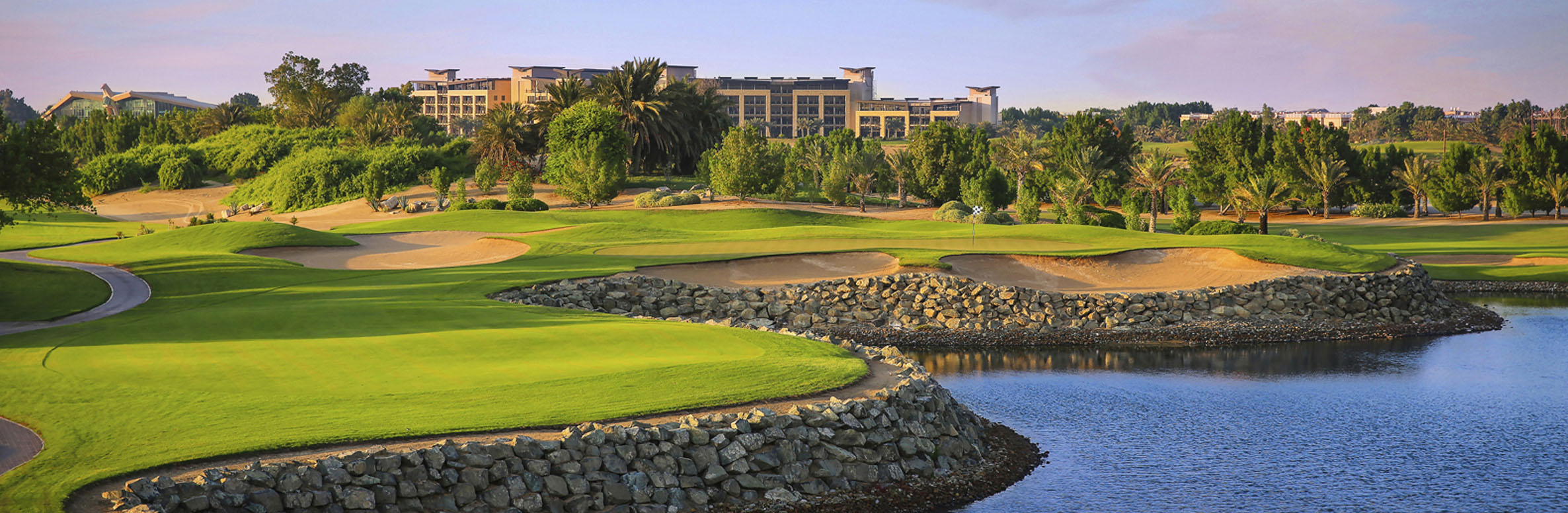 Abu Dhabi Golf Club Championship Course
