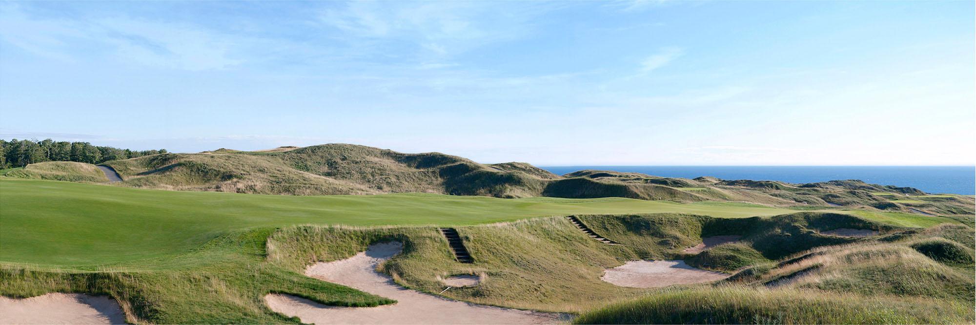 Golf Course Image - Arcadia Bluffs No. 16
