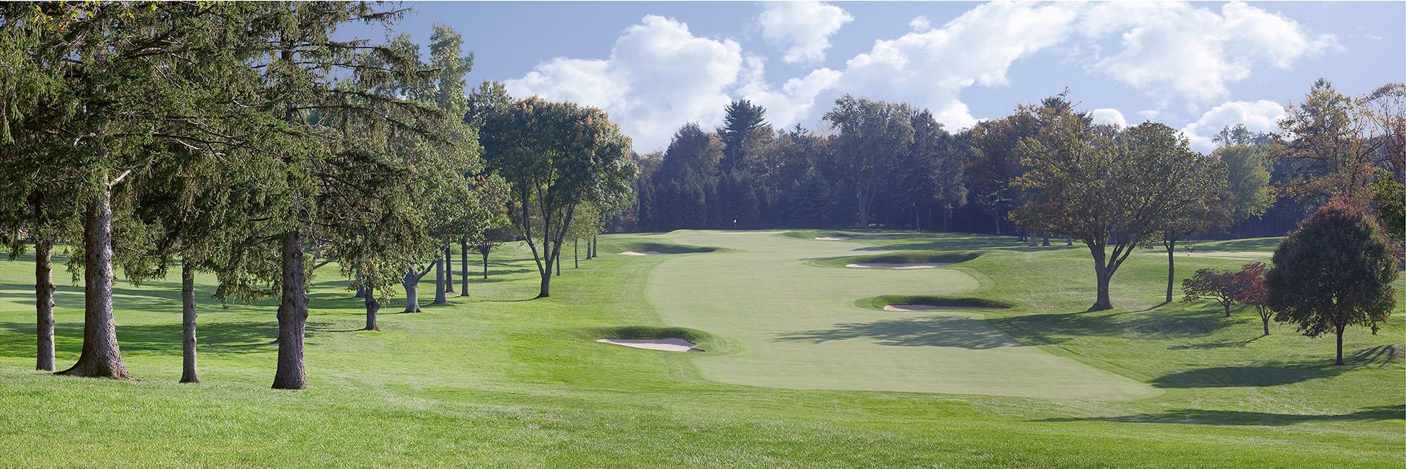 Golf Course Image - Aronimink No. 12