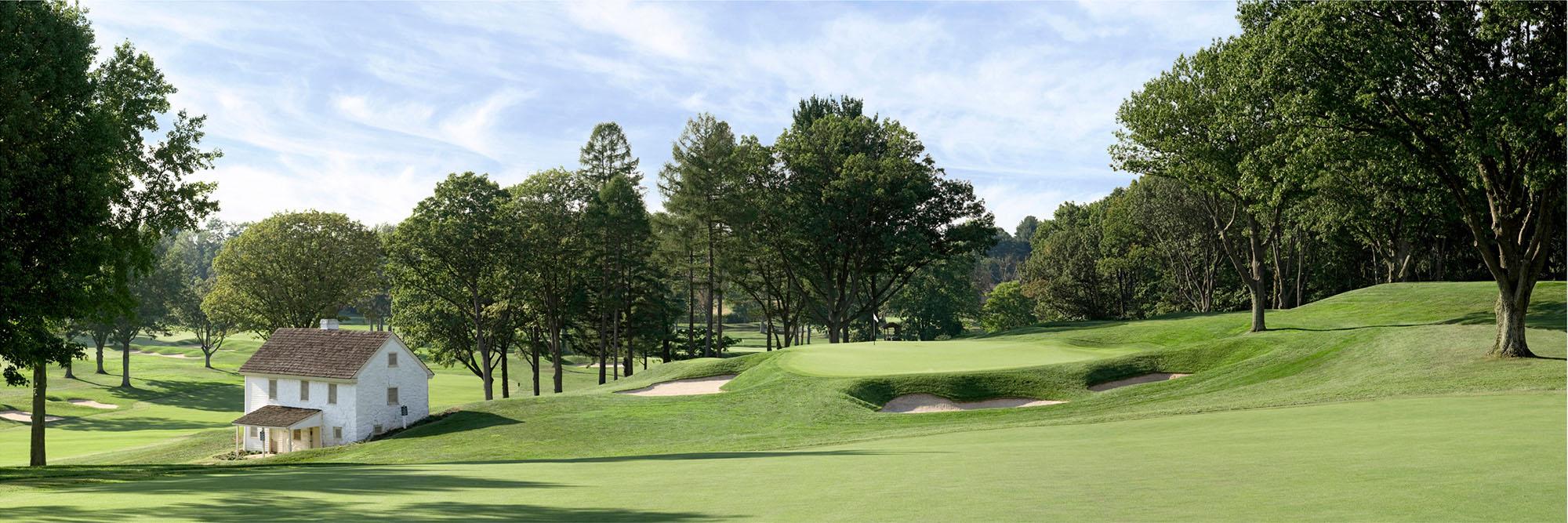 Golf Course Image - Aronimink No. 7