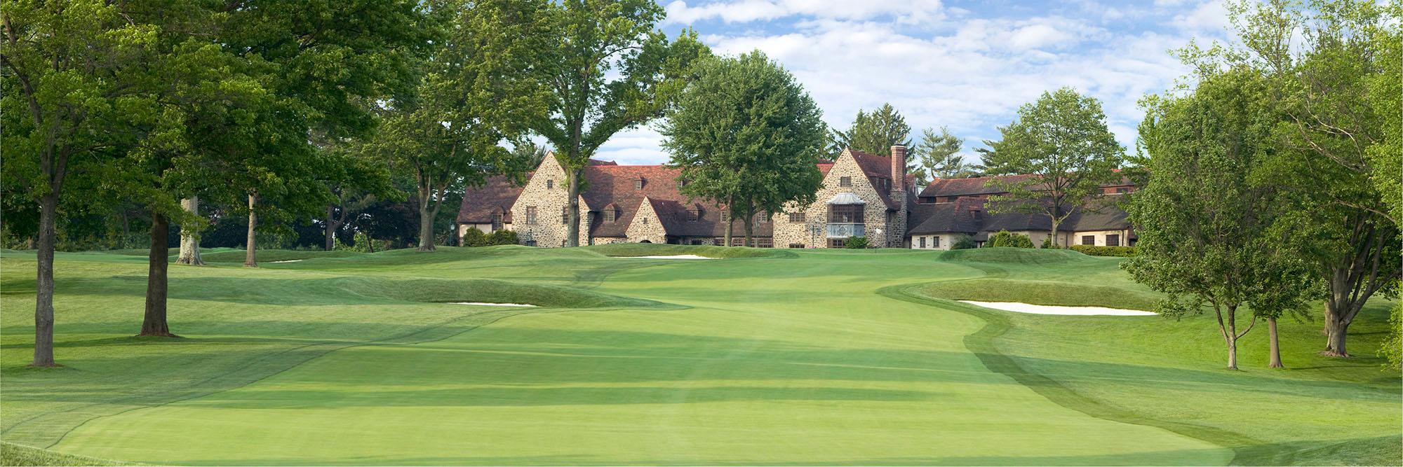 Golf Course Image - Aronimink No. 9