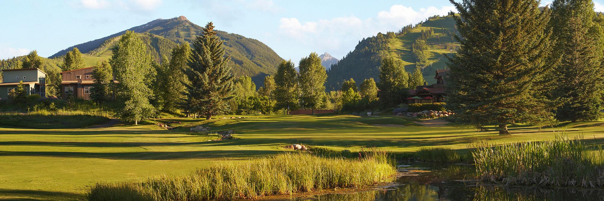 Golf Course Image - Aspen Golf Course No. 18