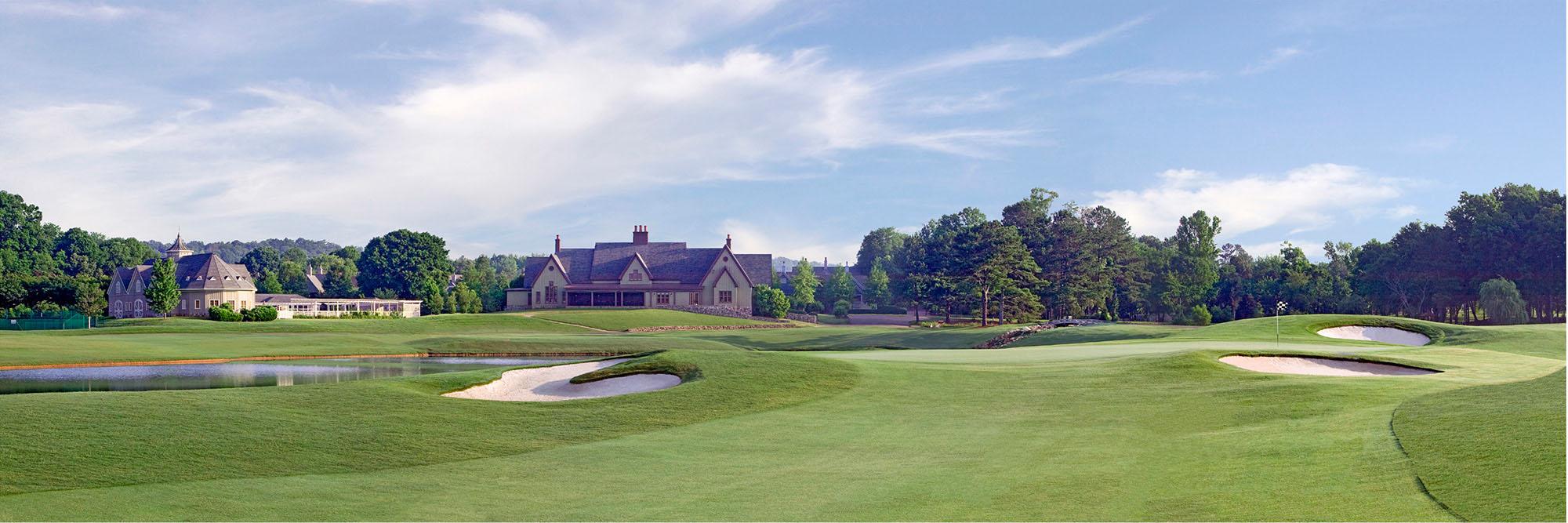 Golf Course Image - Barnsley Gardens No. 9