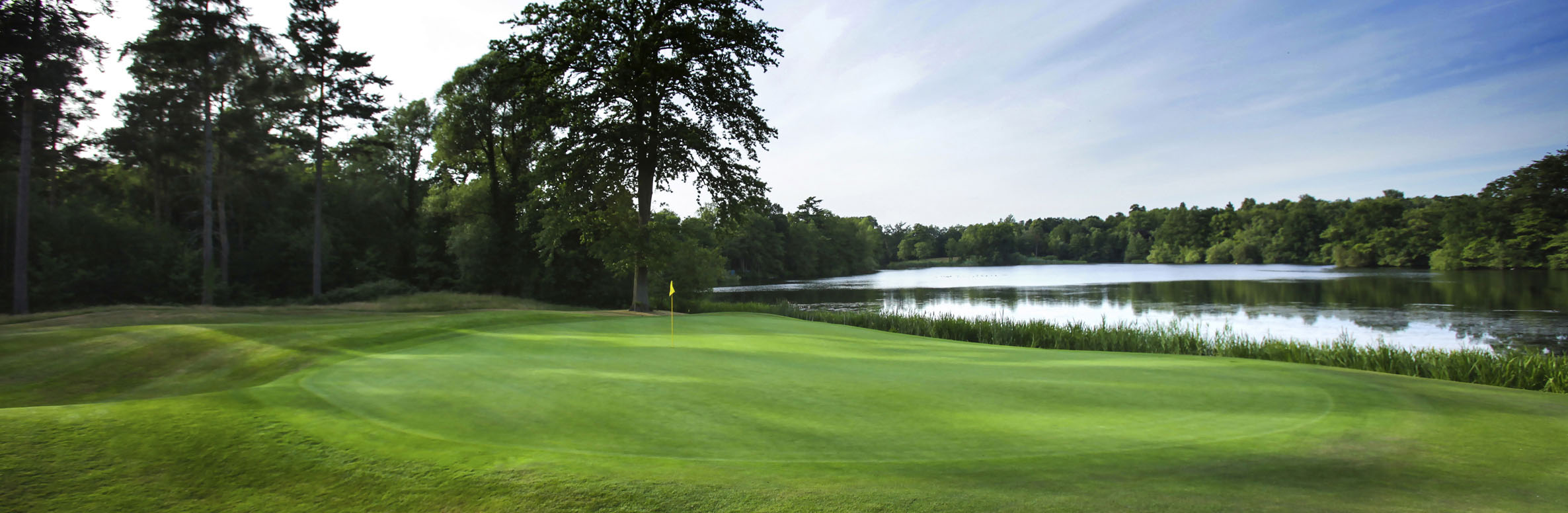 Golf Course Image - Bearwood Lakes Golf Club No. 14