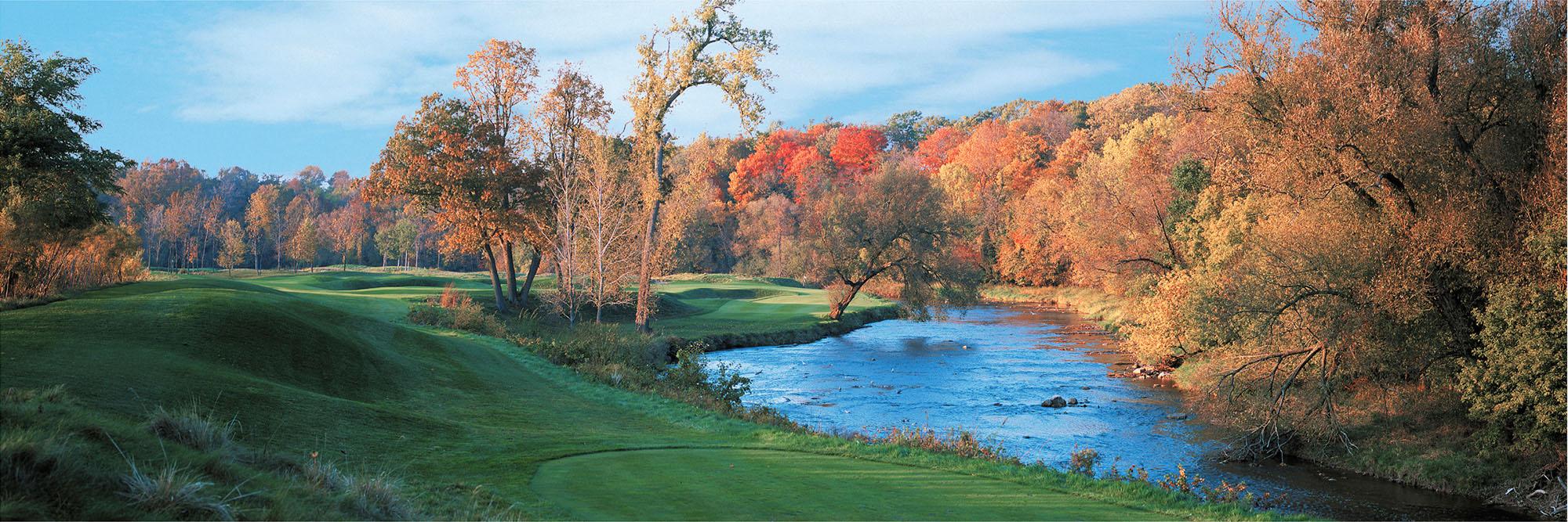 Golf Course Image - Blackwolf Run River Course No. 9