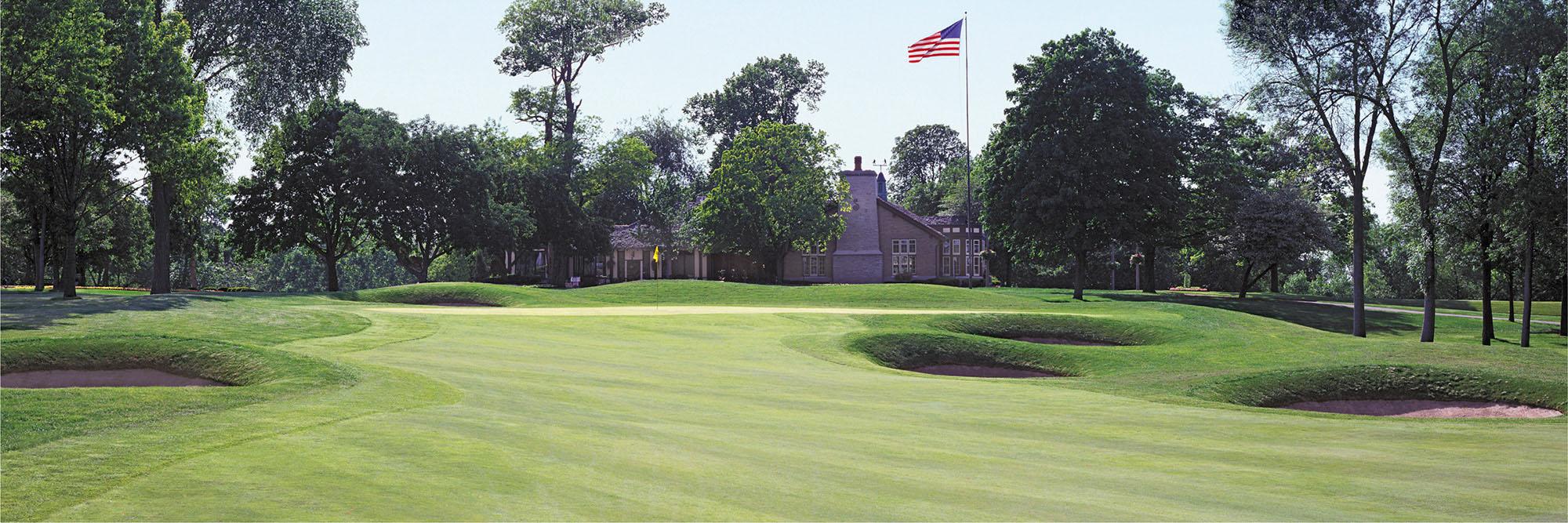 Golf Course Image - Brown Deer Park No. 18