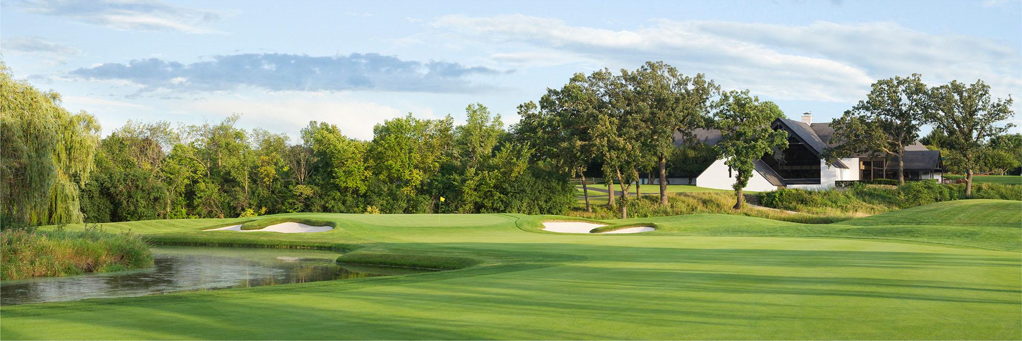 Golf Course Image - Butler National No. 18