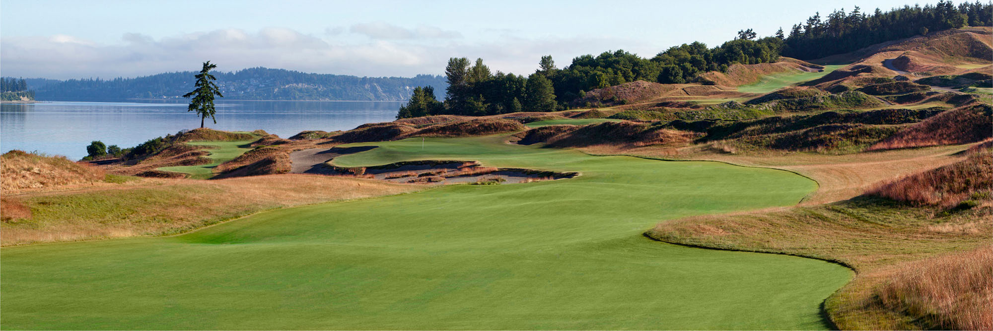 Golf Course Image - Chambers Bay No. 2