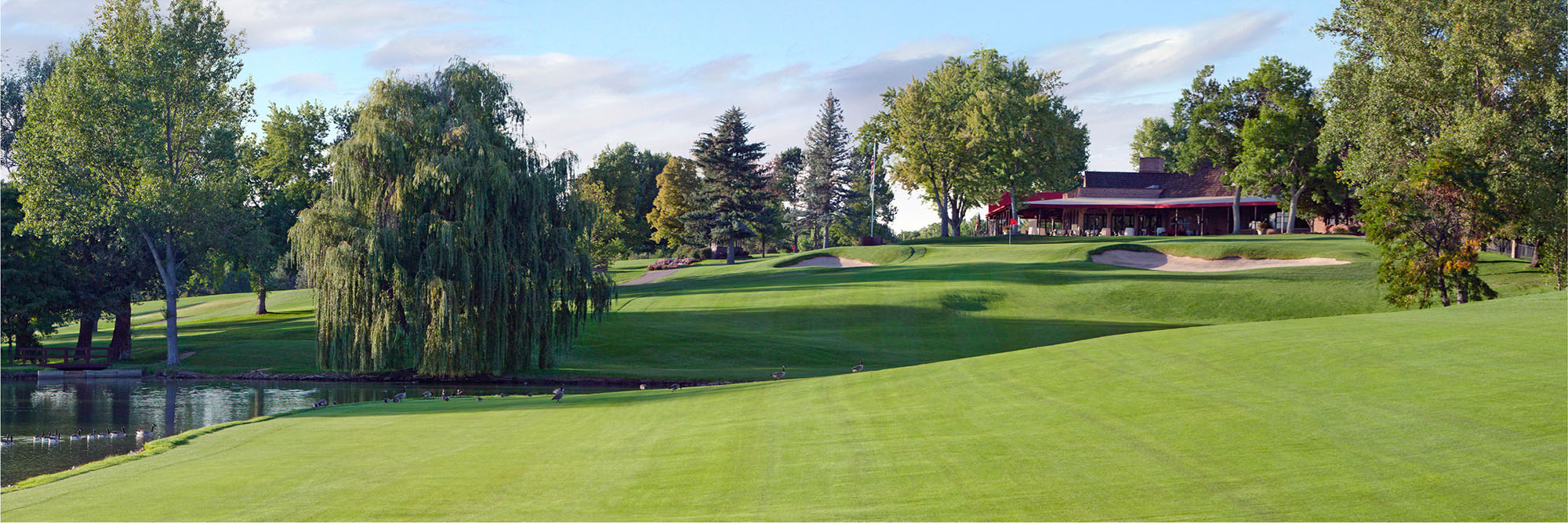 Golf Course Image - Cherry Hills Country Club No. 18