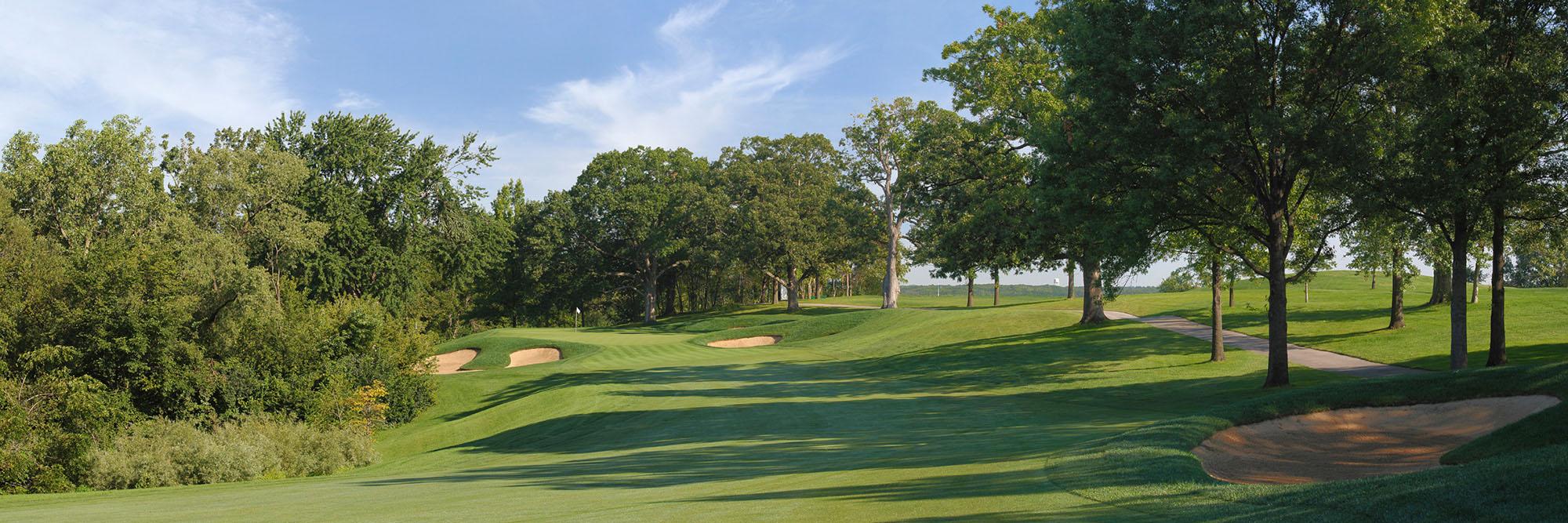 Golf Course Image - Cog Hill 4 No. 16