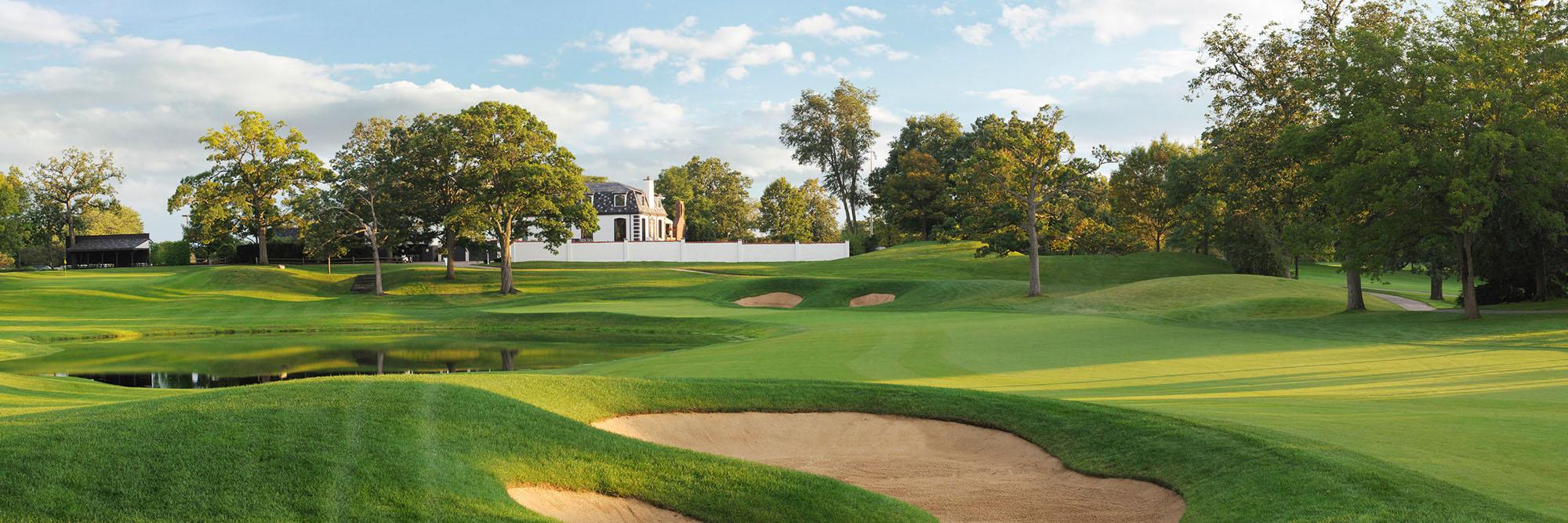 Golf Course Image - Cog Hill 4 No. 18