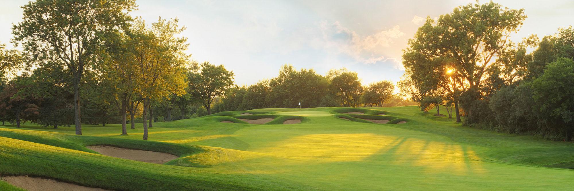 Golf Course Image - Cog Hill 4 No. 7