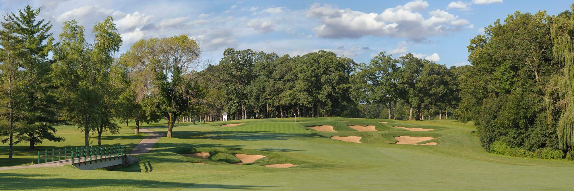 Golf Course Image - Cog Hill 4 No. 8