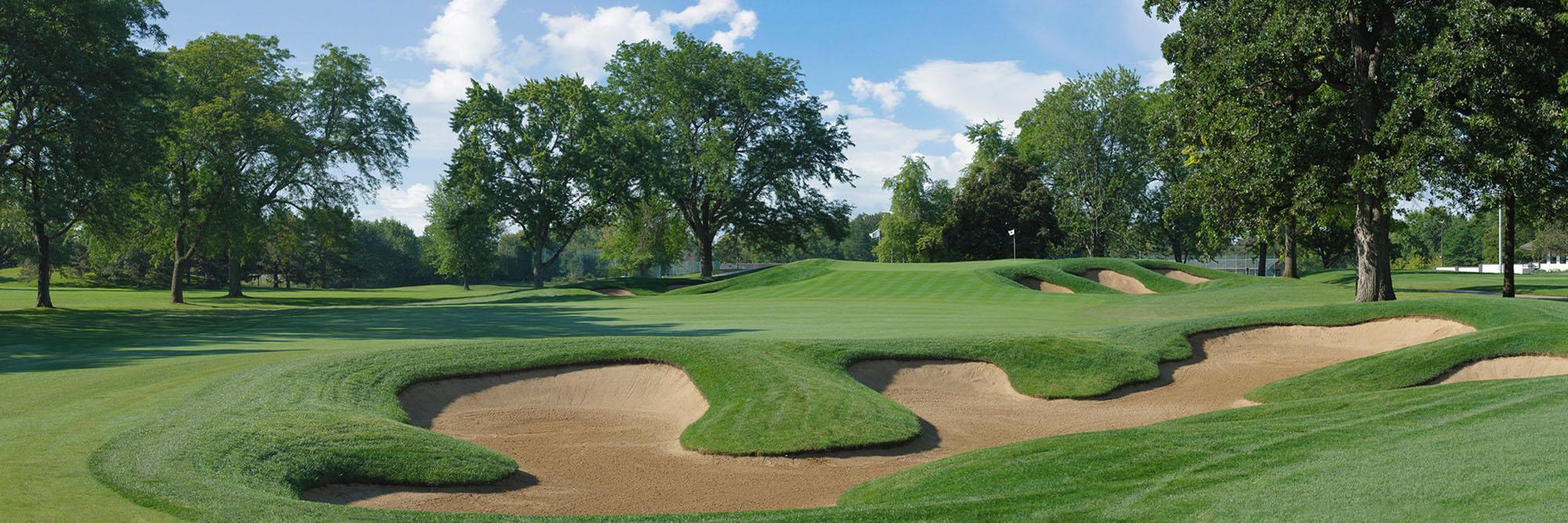 Golf Course Image - Cog Hill 4 No. 9