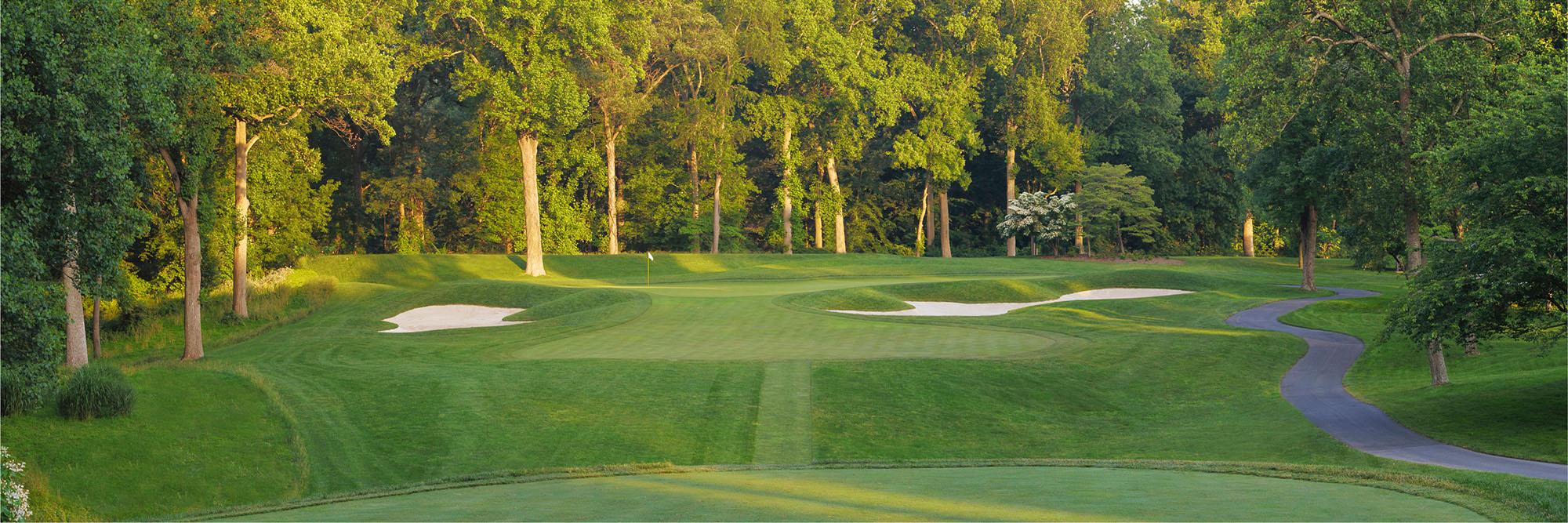 Golf Course Image - Congressional Blue No. 13