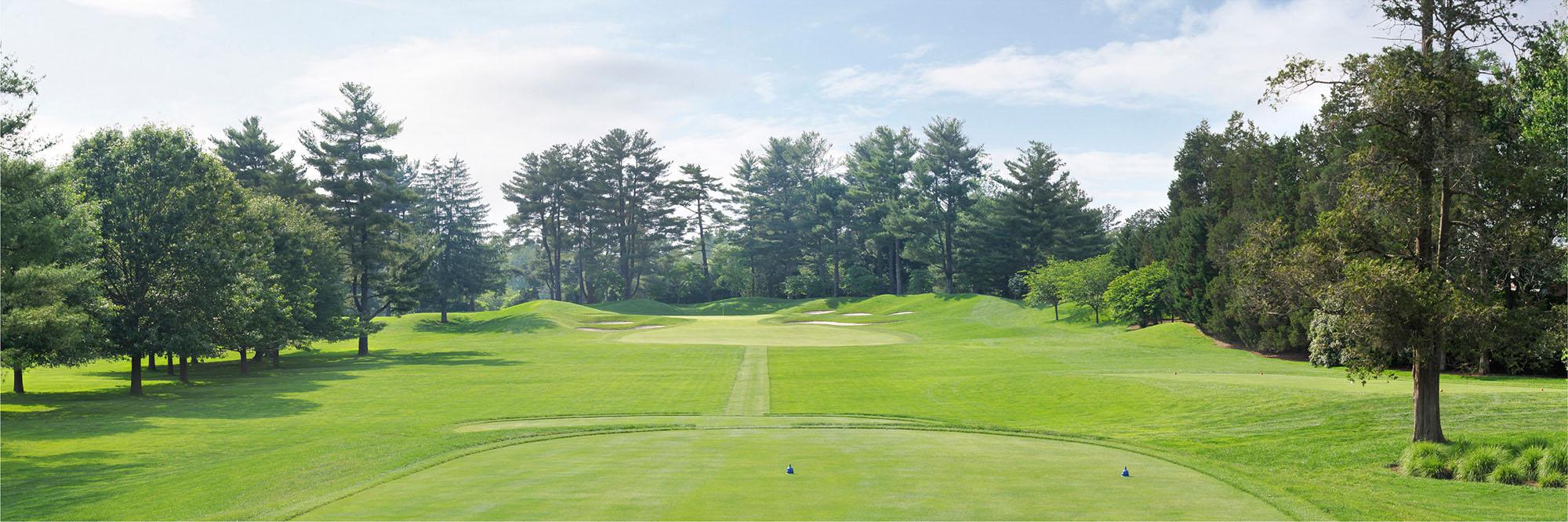 Golf Course Image - Congressional Blue No. 2