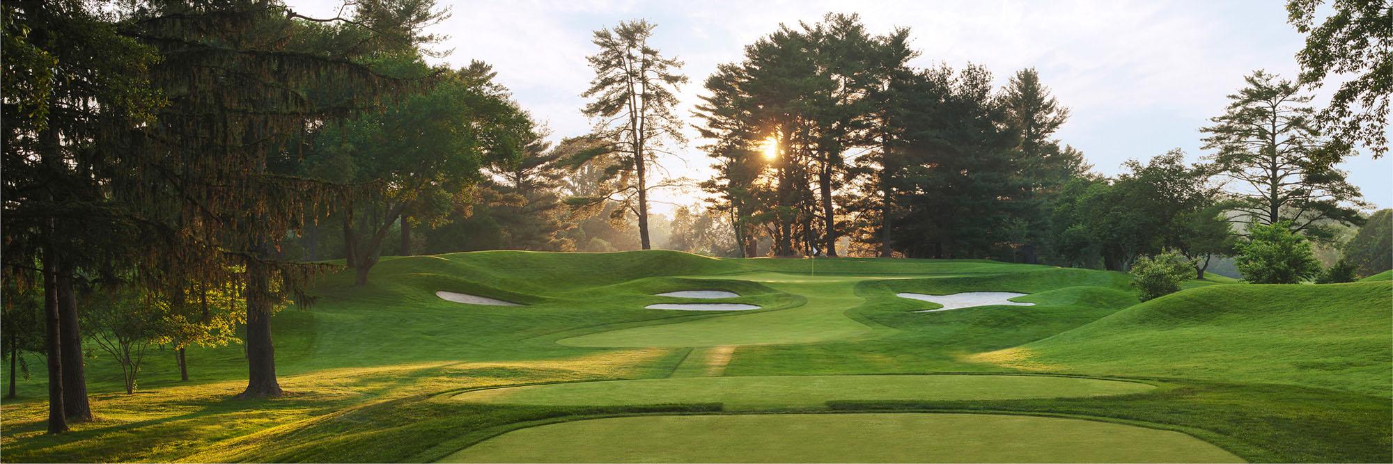 Golf Course Image - Congressional Blue No. 7