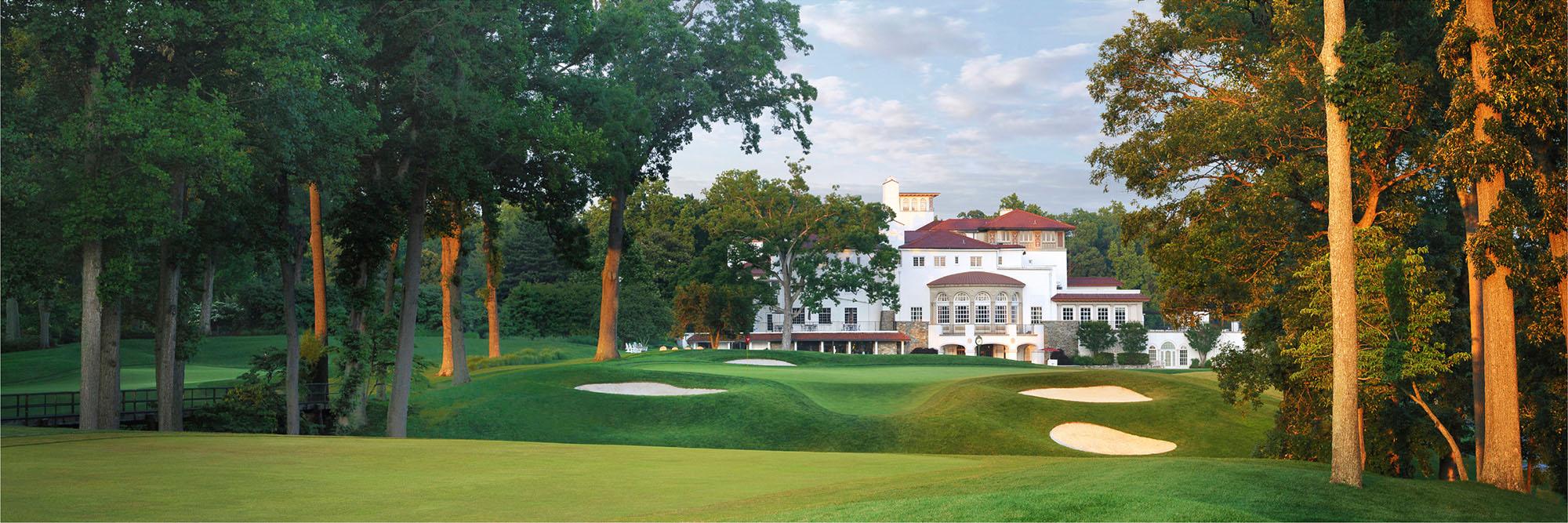 Golf Course Image - Congressional Blue No. 9