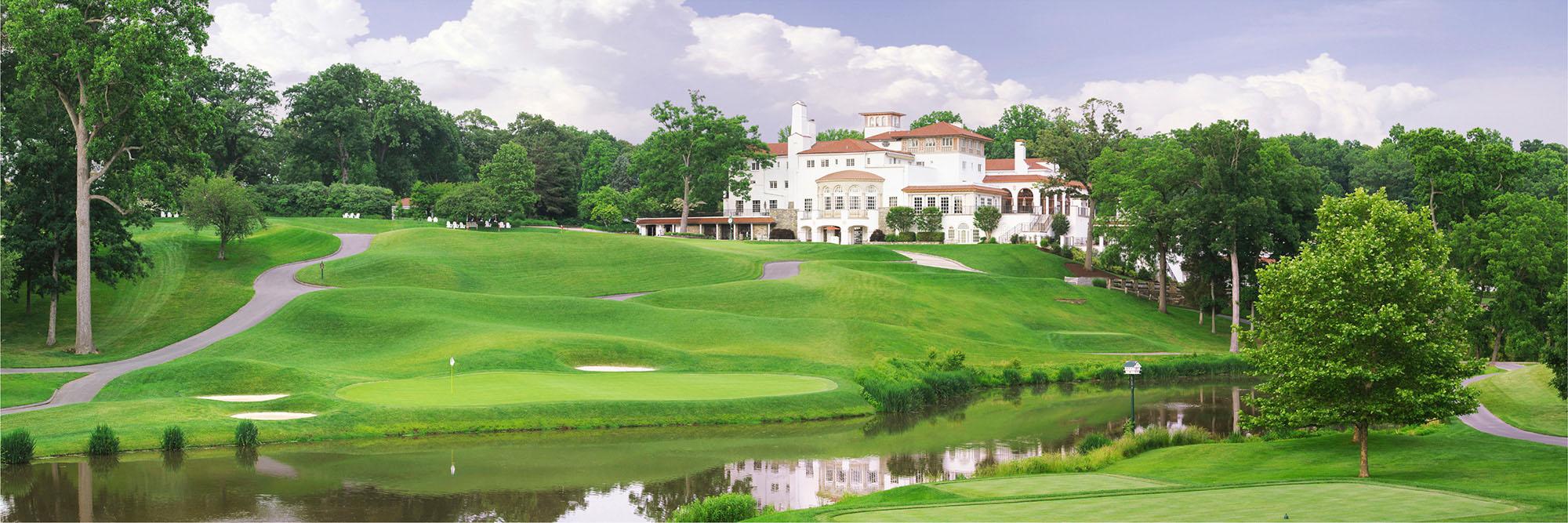 Golf Course Image - Congressional No. 18