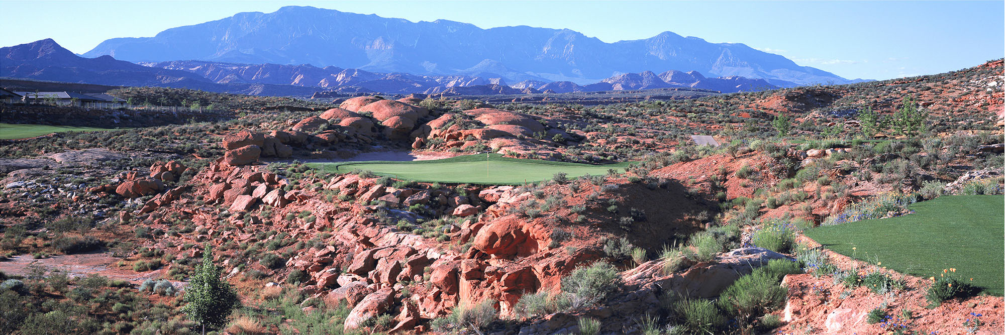 Golf Course Image - Coral Canyons No. 6