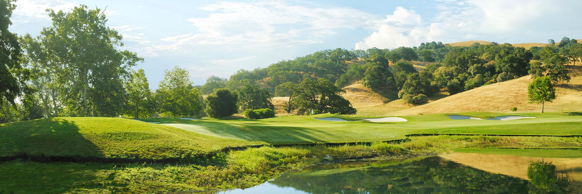 Golf Course Image - CordeValle Golf Club No. 18