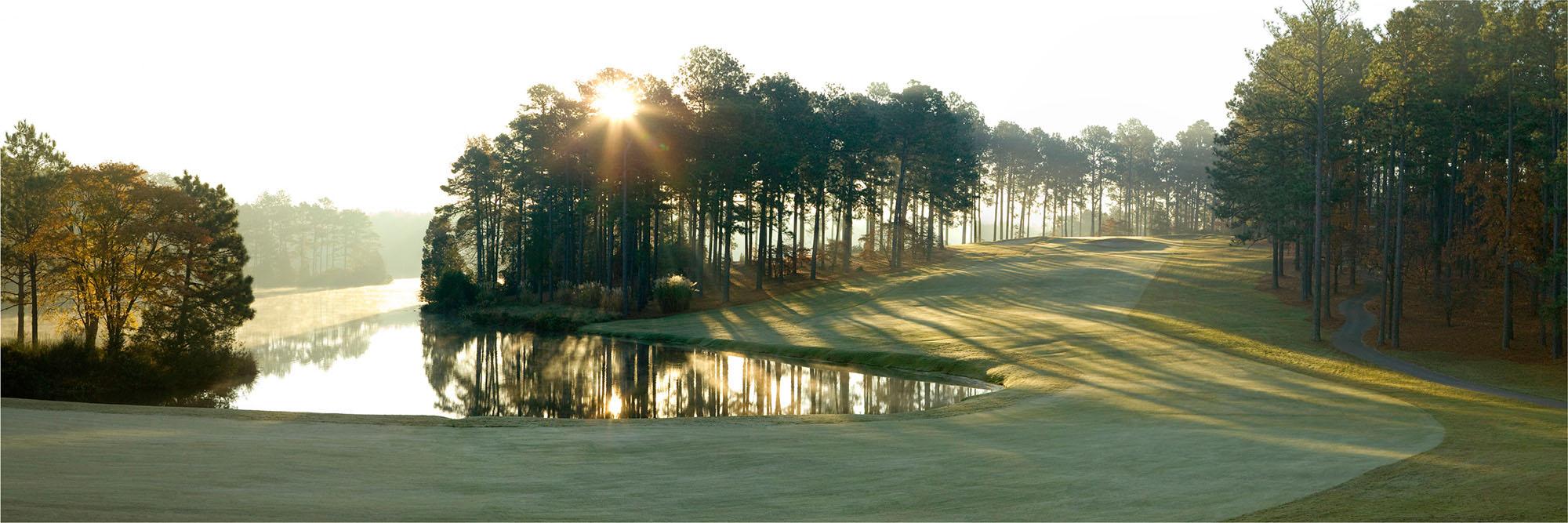 Golf Course Image - Country Club of North Carolina Dogwood No. 18