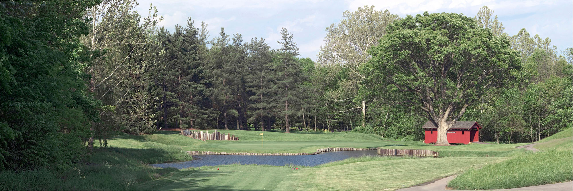 Golf Course Image - Crooked Stick No. 6