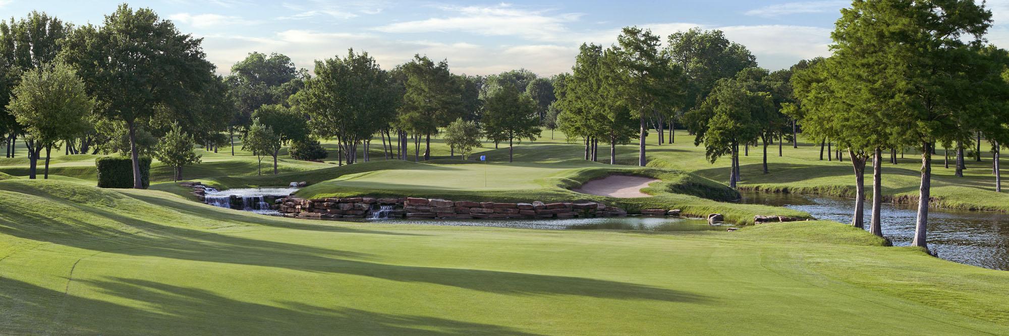 Golf Course Image - Dallas Athletic Club Blue No. 5