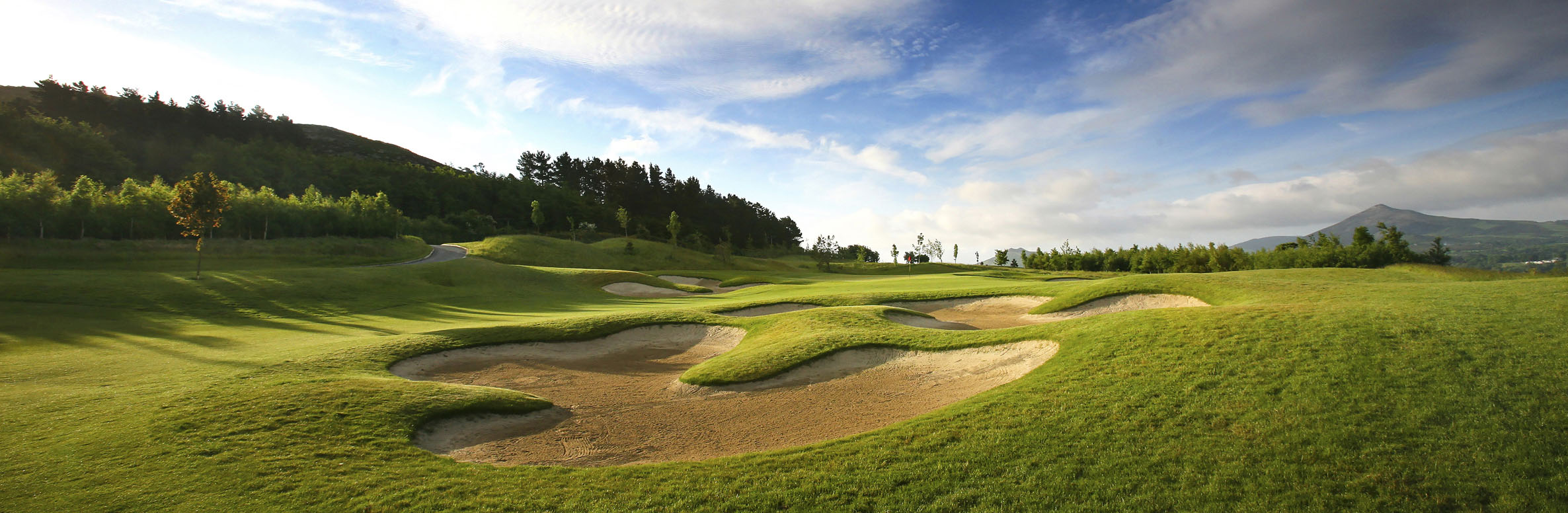 Golf Course Image - Dun Laoghaire Golf Club – Upper to Middle No. 16