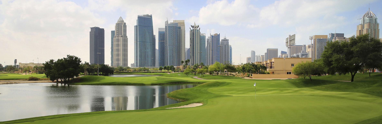 Emirates Golf Club - Faldo