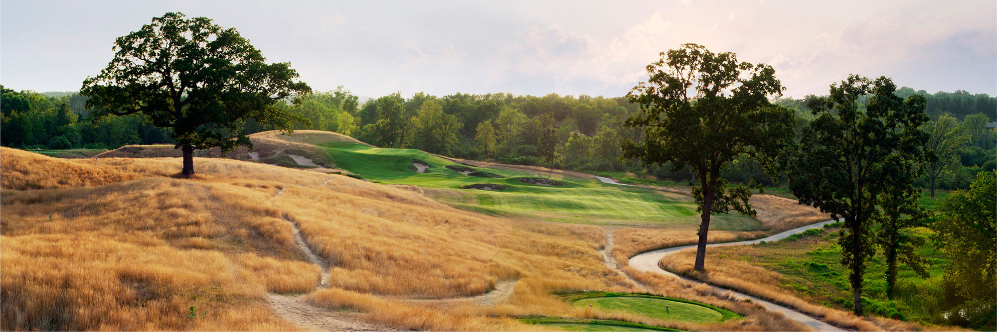 Golf Course Image - Erin Hills No. 15