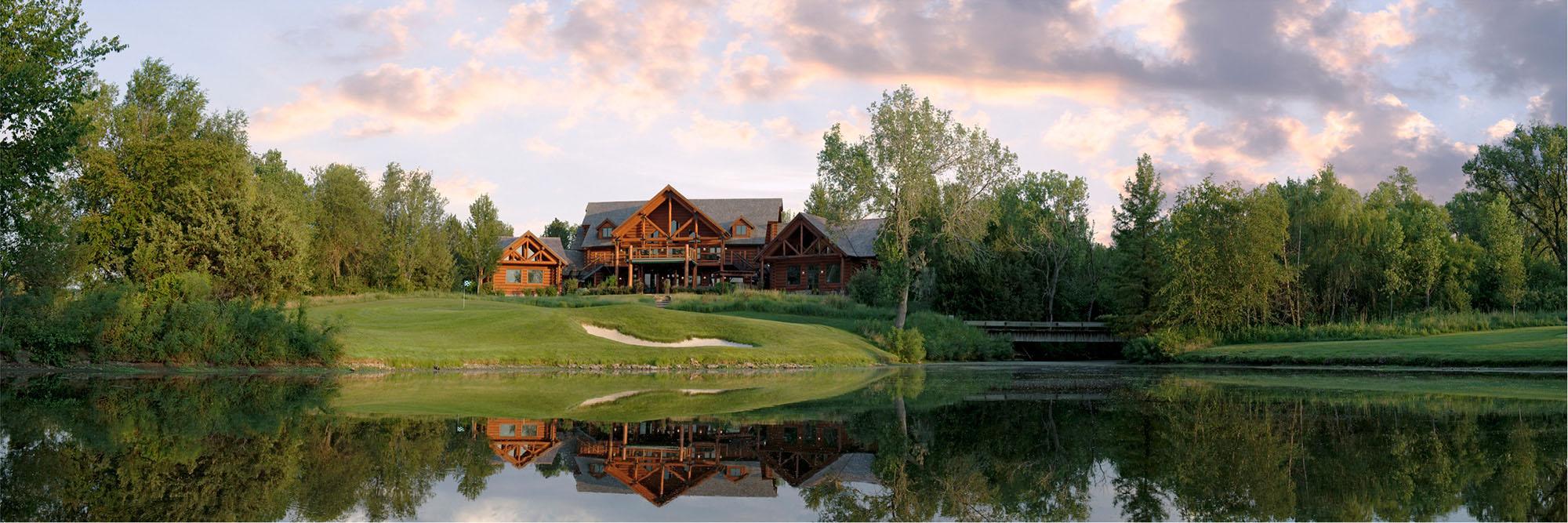 Golf Course Image - Flint Hills National No. 18