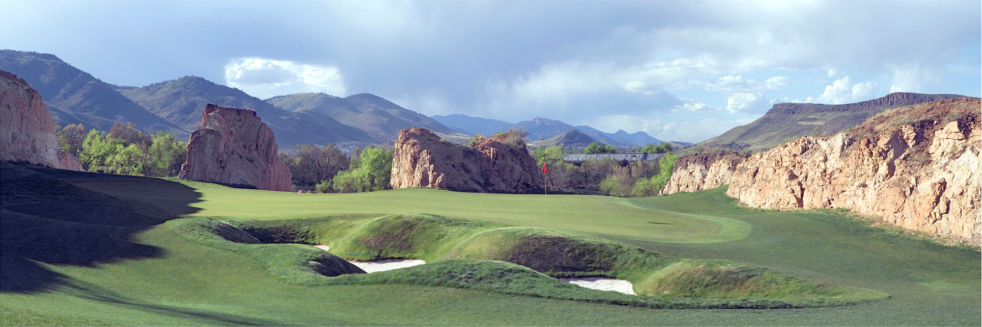 Golf Course Image - Fossil Trace No. 18