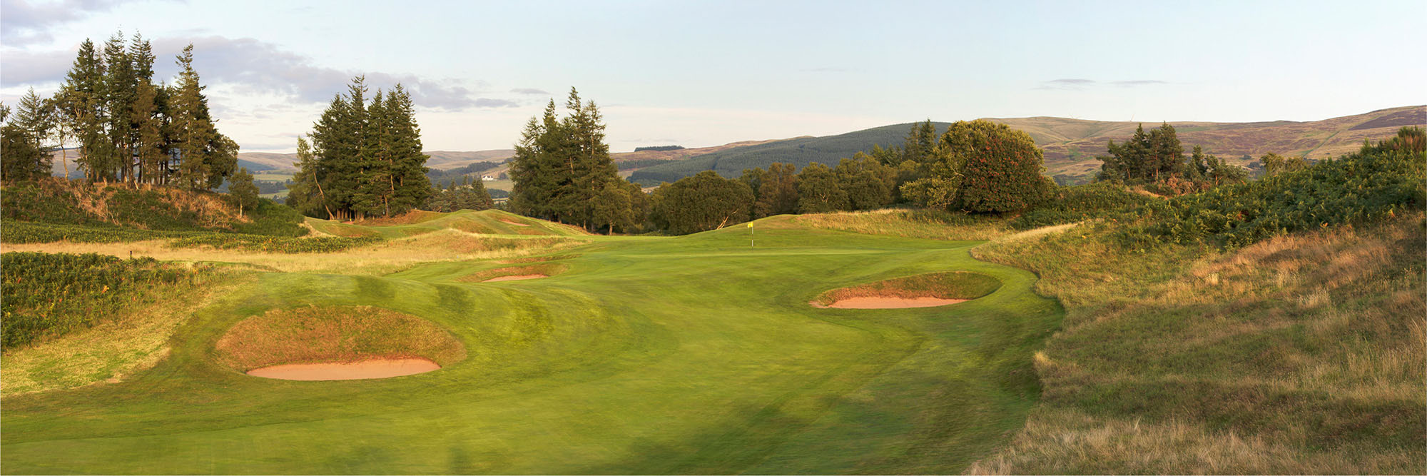 Golf Course Image - Gleneagles Kings No. 13