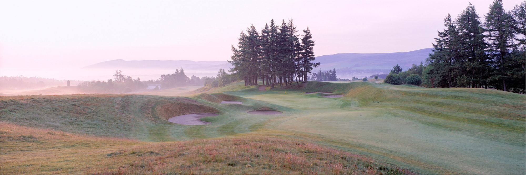 Golf Course Image - Gleneagles Kings No. 14