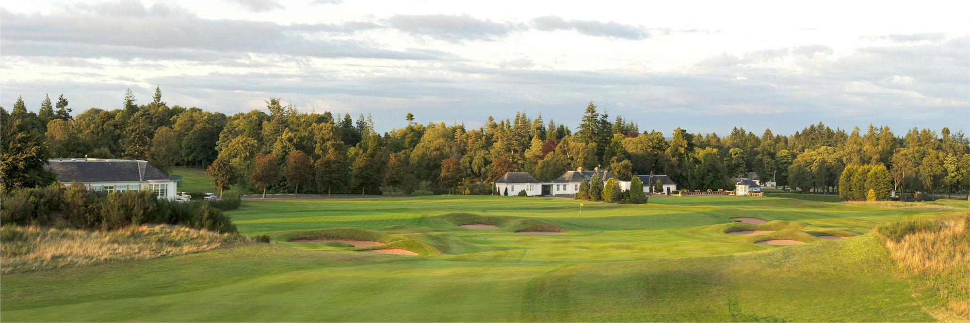 Golf Course Image - Gleneagles Kings No. 18