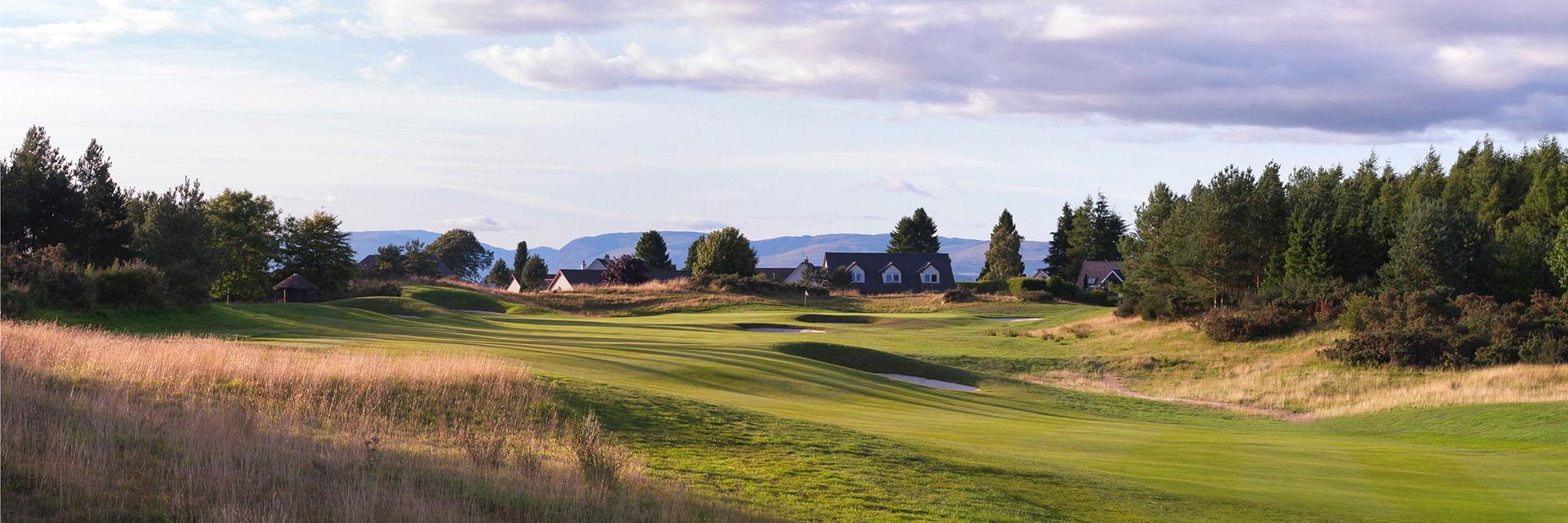 Golf Course Image - Gleneagles PGA Centenary Course No. 14