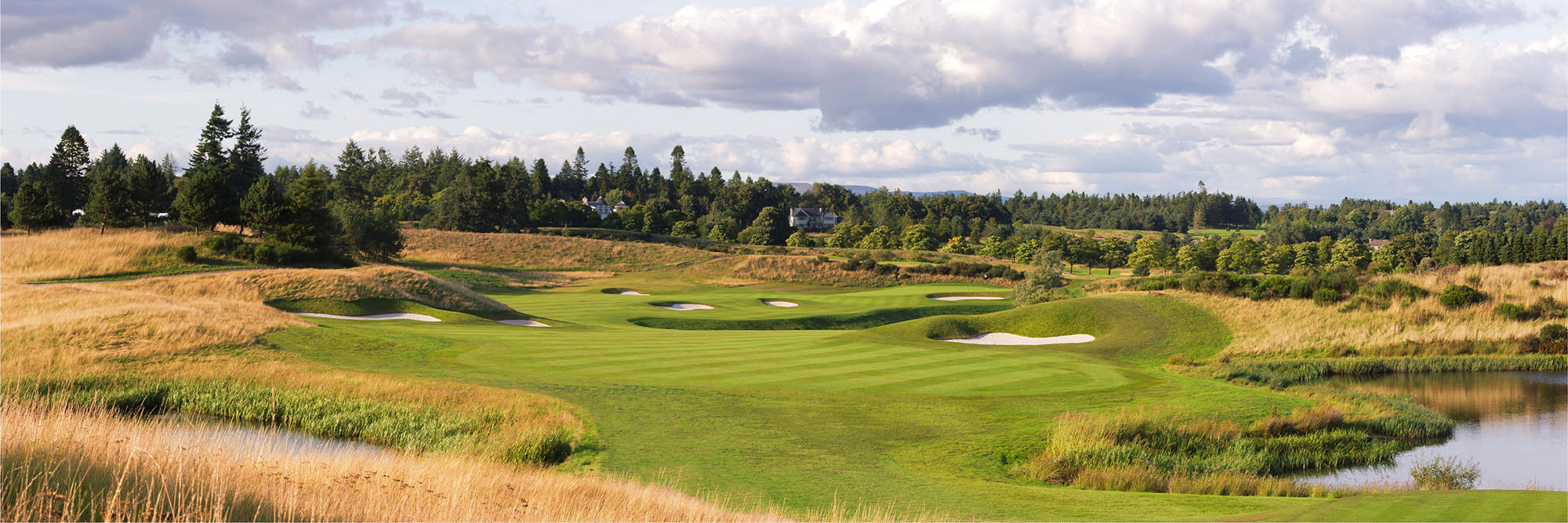 Golf Course Image - Gleneagles PGA Centenary Course No. 9