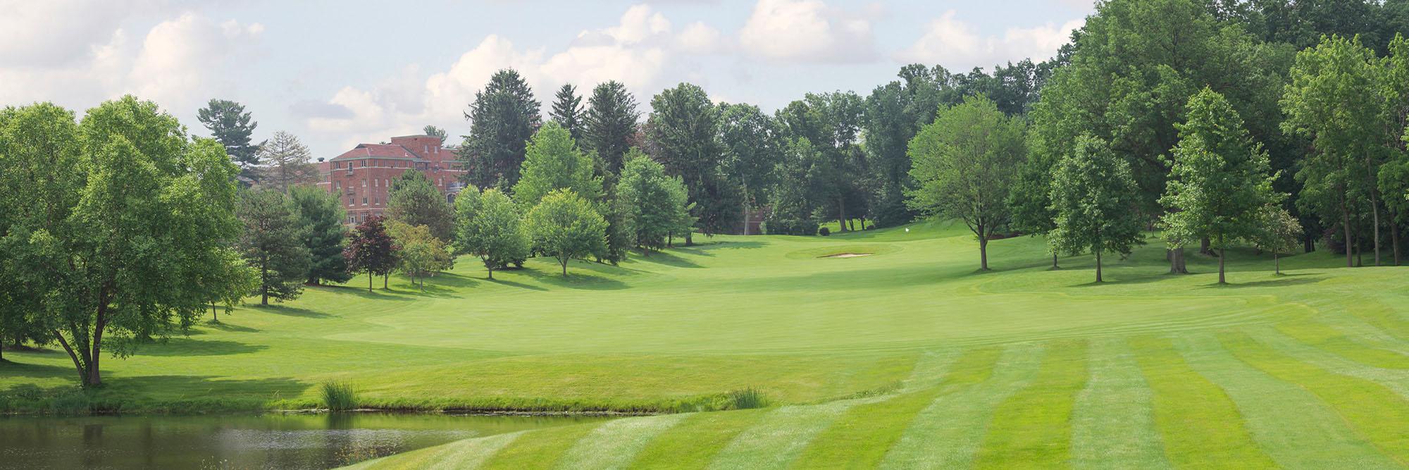 Golf Course Image - Glenmoor Country Club No. 18