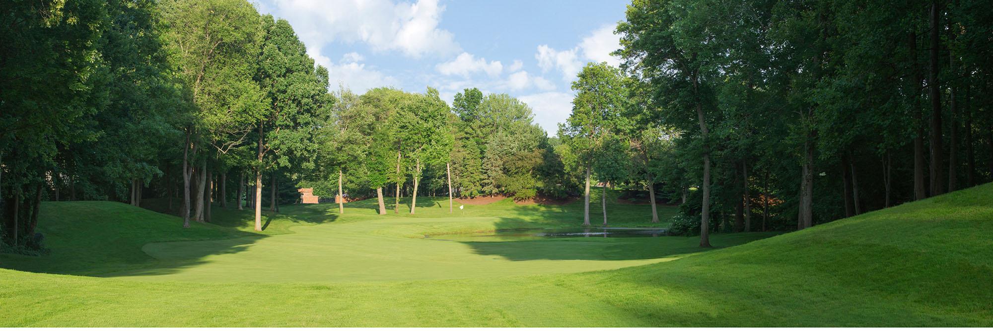Golf Course Image - Glenmoor Country Club No. 8