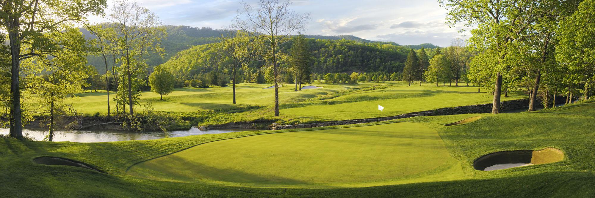 Golf Course Image - The Greenbrier Meadows Course No. 12