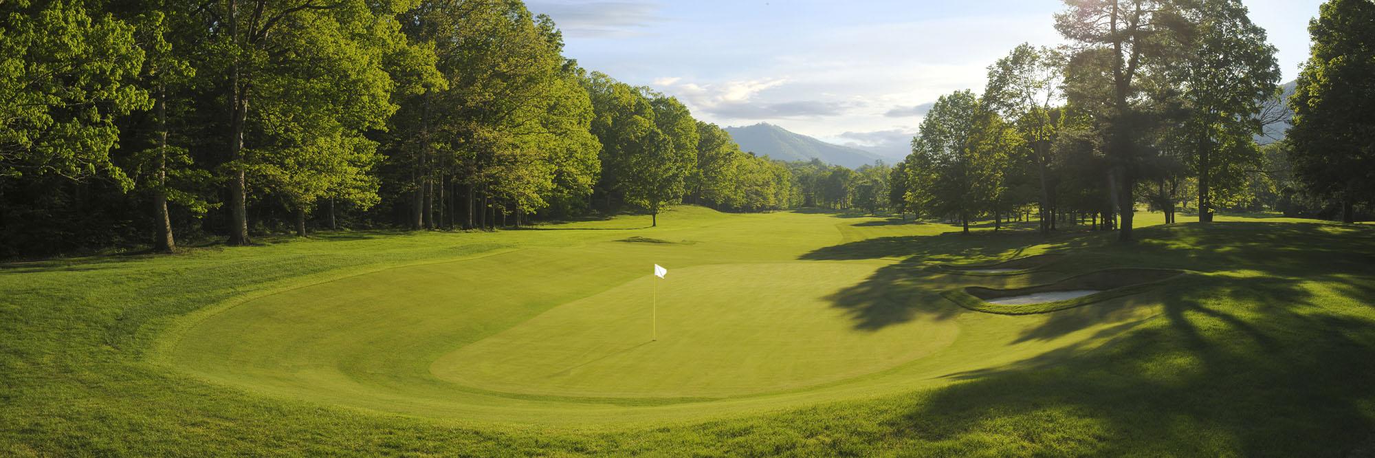 Golf Course Image - The Greenbrier Meadows Course No. 13