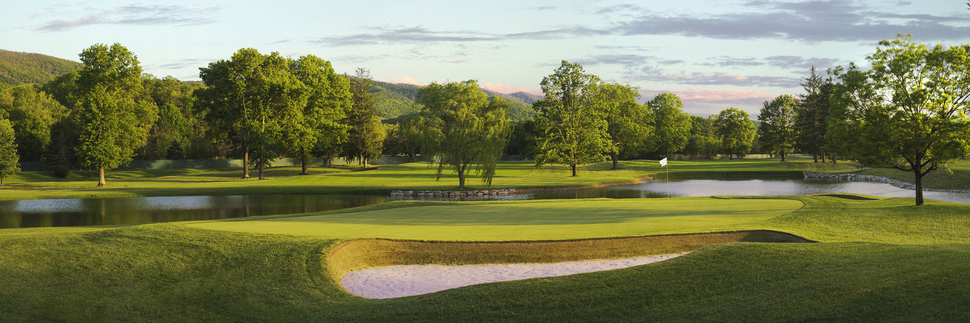 Golf Course Image - The Greenbrier Meadows Course No. 18