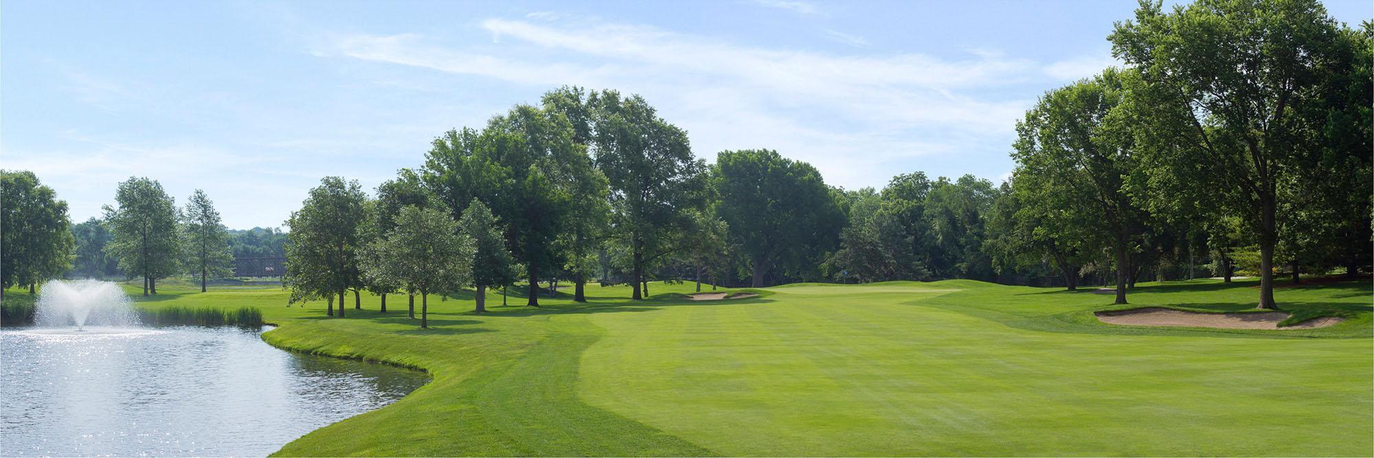 Golf Course Image - Happy Hollow Golf Club No. 14