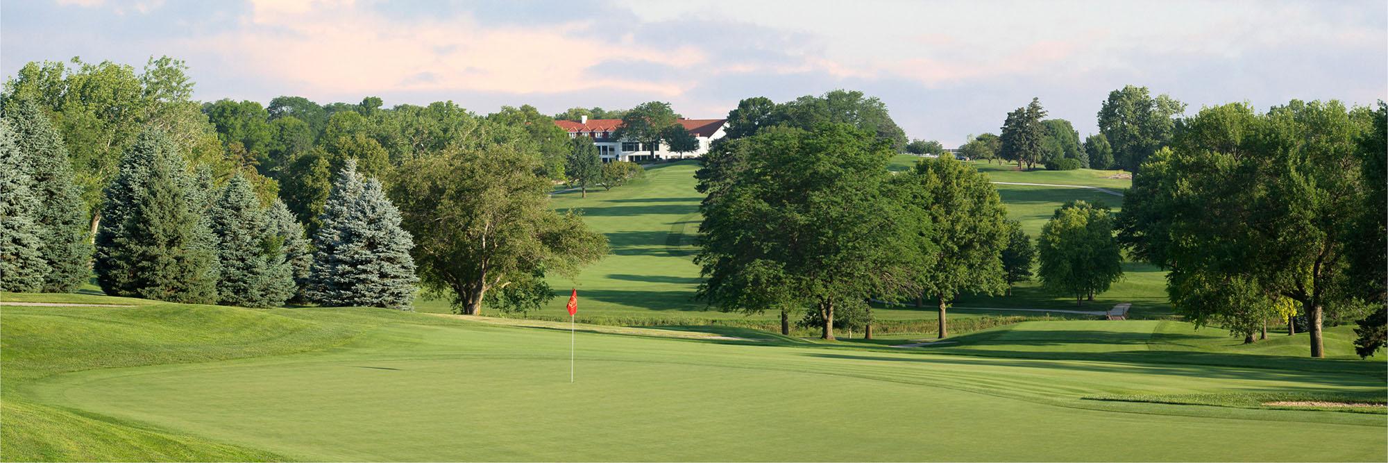 Golf Course Image - Happy Hollow Golf Club No. 17