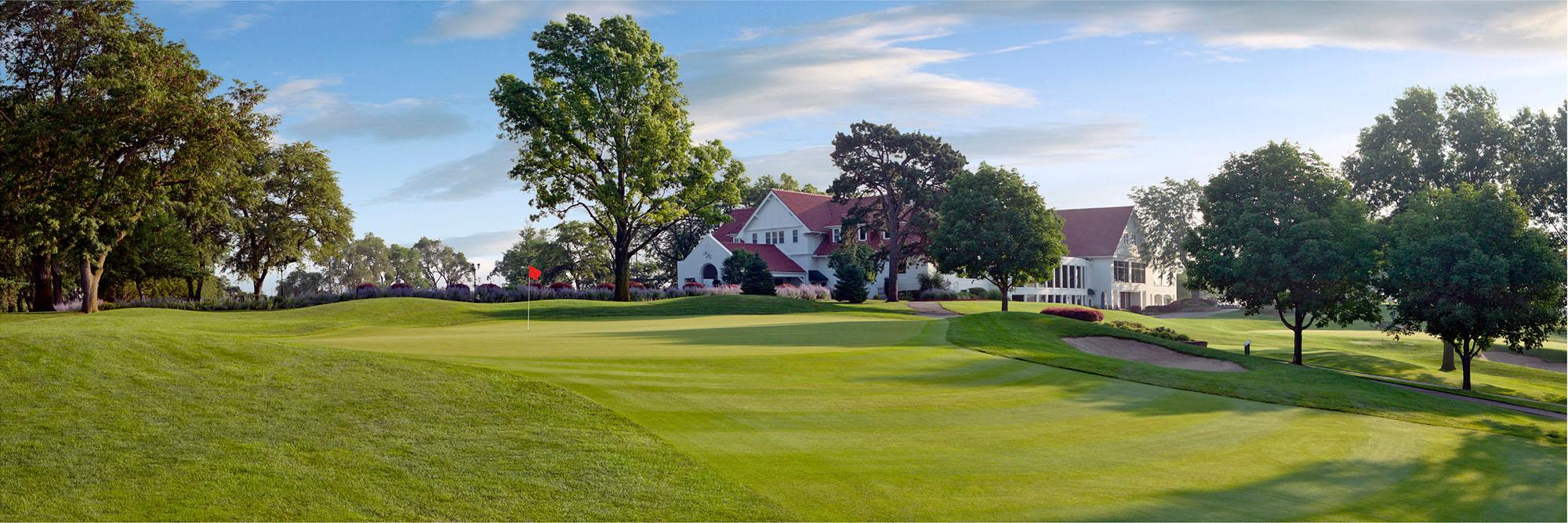 Golf Course Image - Happy Hollow Golf Club No. 7