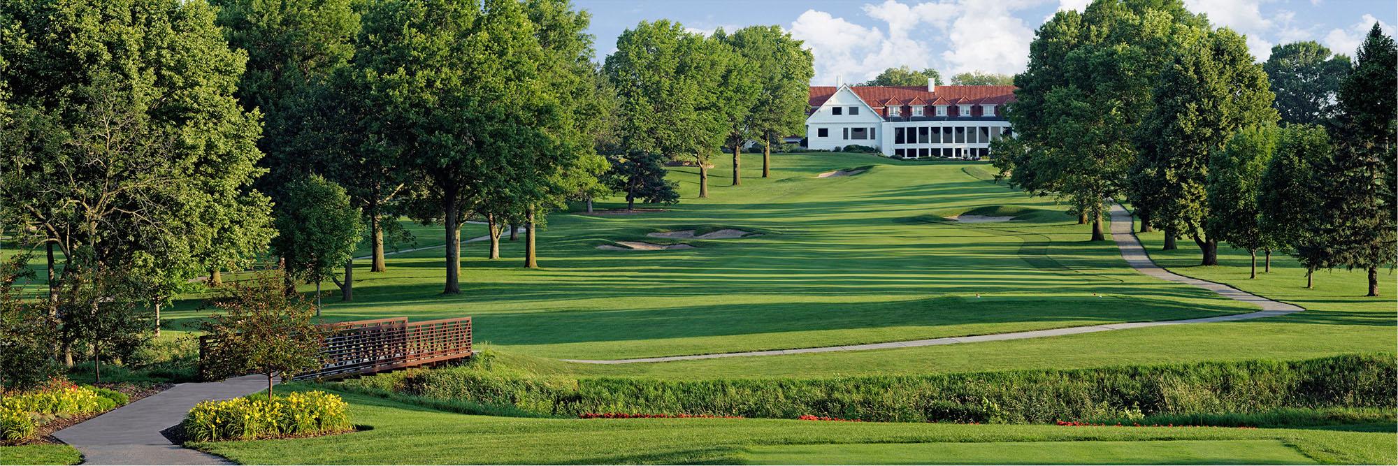 Golf Course Image - Happy Hollow Golf Club No. 9